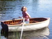 1950s Penn Yan Dinghy SOLD - image 3 of 3 8 ft, canvas covered