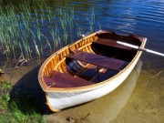 1950s Penn Yan Dinghy SOLD - image 2 of 3 8 ft, canvas covered